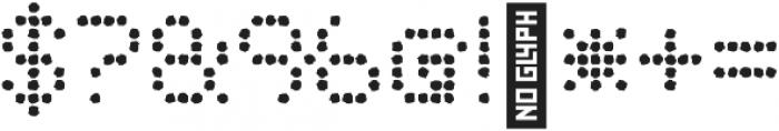 Punto Circle-Medium-Rough otf (500) Font OTHER CHARS