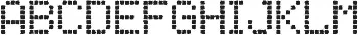 Punto Rounded-Medium-Rough otf (500) Font UPPERCASE