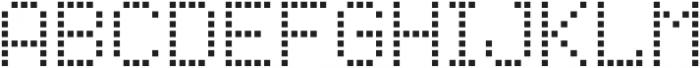Punto Square-Light-Regular otf (300) Font UPPERCASE