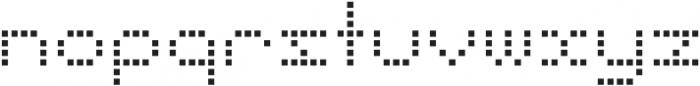 Punto Square-Light-Regular otf (300) Font LOWERCASE
