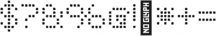 Punto Square-Light-Rough otf (300) Font OTHER CHARS