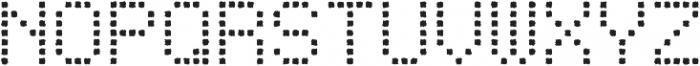 Punto Square-Light-Rough otf (300) Font UPPERCASE