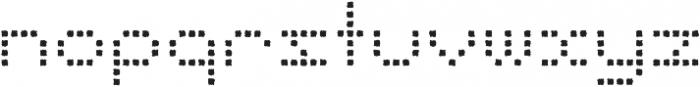 Punto Square-Light-Rough otf (300) Font LOWERCASE
