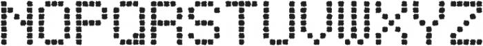 Punto Square-Medium-Rough otf (500) Font UPPERCASE