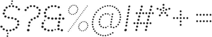 Punto otf (400) Font OTHER CHARS