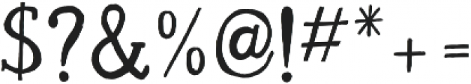 Pure Gold ttf (400) Font OTHER CHARS