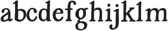 Pure Gold ttf (400) Font LOWERCASE