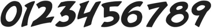 Purvenia Italic otf (400) Font OTHER CHARS
