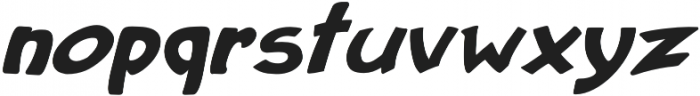 Purvenia Italic otf (400) Font LOWERCASE