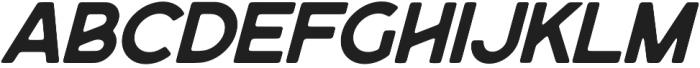 Purveyor Rounded - Oblique otf (400) Font LOWERCASE