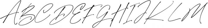 Purxious Signature otf (400) Font UPPERCASE