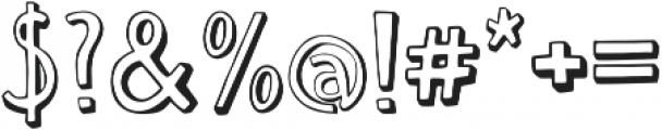 Push Ups Medium Medium ttf (500) Font OTHER CHARS