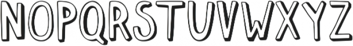 Push Ups Medium Medium ttf (500) Font UPPERCASE