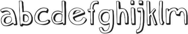 Push Ups Medium Medium ttf (500) Font LOWERCASE
