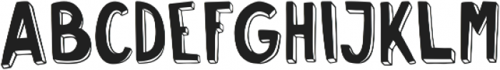 Push Ups Strong ttf (400) Font UPPERCASE