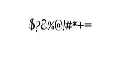 Pugsley.ttf Font OTHER CHARS