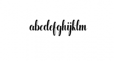 Pugsley.ttf Font LOWERCASE