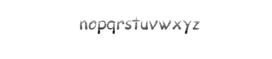 Pull Gradients.otf Font LOWERCASE