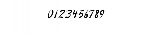 Pull Italic.otf Font OTHER CHARS