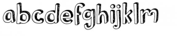 Pusekatt Font LOWERCASE