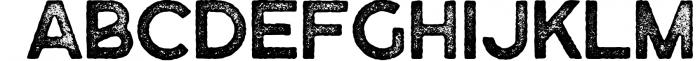 Purveyor - 8 Fonts Included - Font Bundle 7 Font UPPERCASE