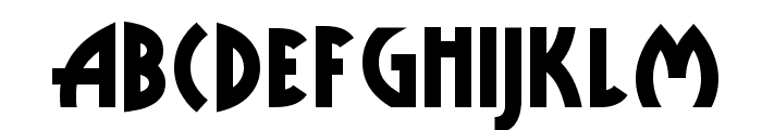 Public Enemy NF Font UPPERCASE