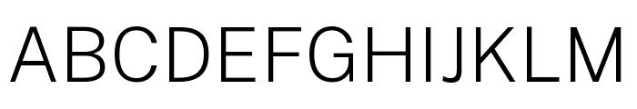 Public Sans ExtraLight Font UPPERCASE