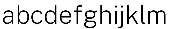 Public Sans ExtraLight Font LOWERCASE