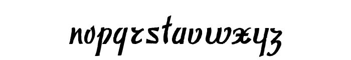 Publicite Font LOWERCASE