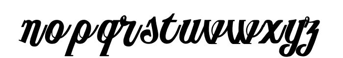 Publishing Script DEMO version Font LOWERCASE