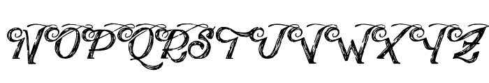 PublishingDraftScriptDEMOve Font UPPERCASE
