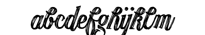 PublishingDraftScriptDEMOve Font LOWERCASE