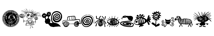 Puchakhon HYPNOSIS Font LOWERCASE
