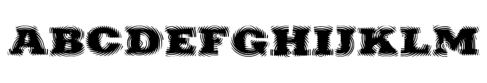 Puchakhon RAIN Font LOWERCASE
