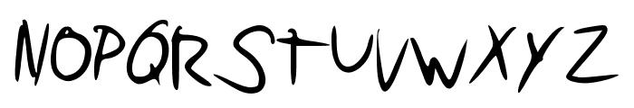 Pudding Script Font UPPERCASE