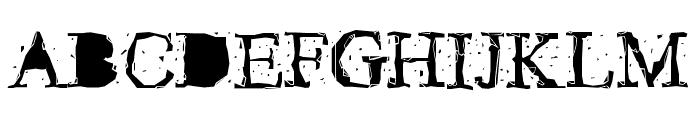 Pudmonkey Regular Font UPPERCASE