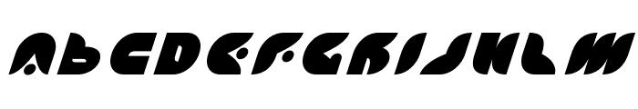 Puff Angel Title Italic Font UPPERCASE