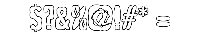 PuffedRice Font OTHER CHARS