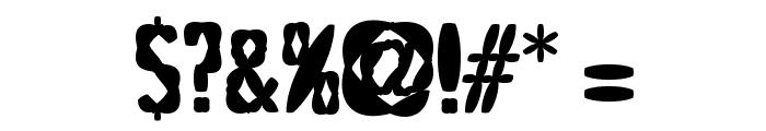 PuffedRiceBlack Font OTHER CHARS
