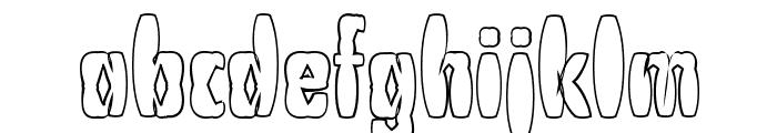 PuffedRice Font LOWERCASE