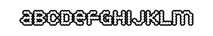 Puffy Dreamland Font LOWERCASE