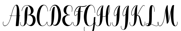 Pugsley Font UPPERCASE