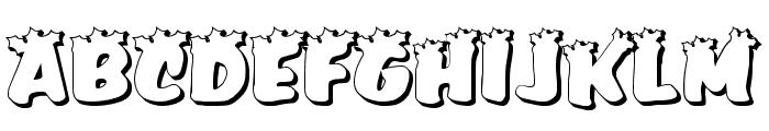 Pullstar-Holiday Font UPPERCASE
