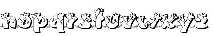 Pullstar-Holinight Font LOWERCASE
