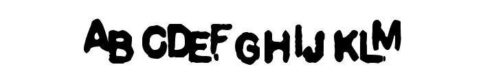 Pulp Dance Font UPPERCASE