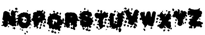 Pulpatone Font LOWERCASE