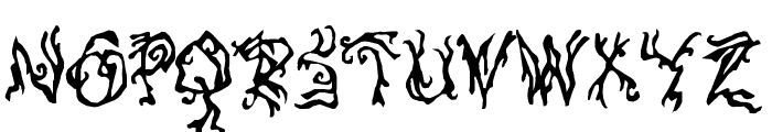 PulseState-Regular Font UPPERCASE