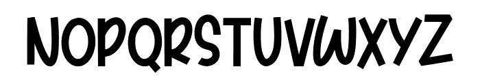 Pumkinpie Font UPPERCASE