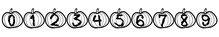 Pumpkin Halloween St Font OTHER CHARS