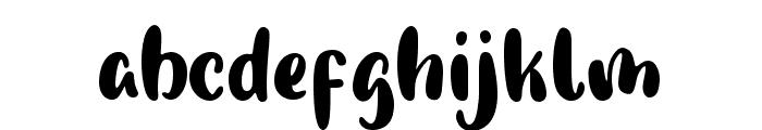 Pumpkin Story Font LOWERCASE